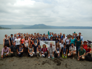 2015 09 16 IAH MT2 tour at Lake Bracciano