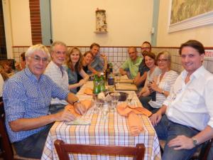 2015 09 19 HJ team at dinner